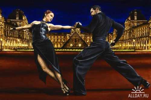 Работы художницы R Young. Dancers...
