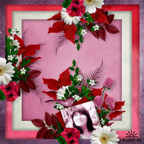 Скрап-набор Flowers passion