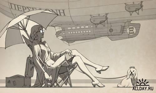 Иллюстратор Alexey Lipatov