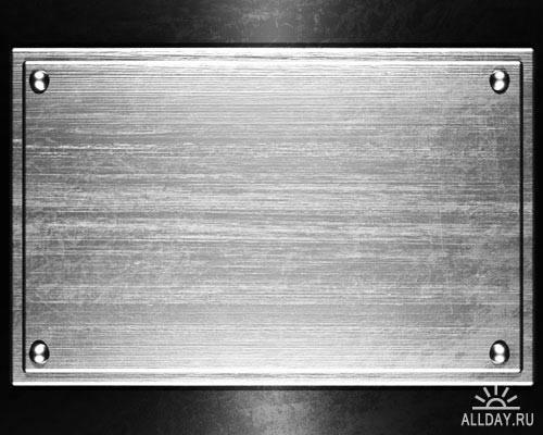 Металлический фон. Вып.15 | Metal background. Set.15