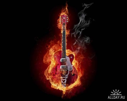 Пламя / Flame / JPEG