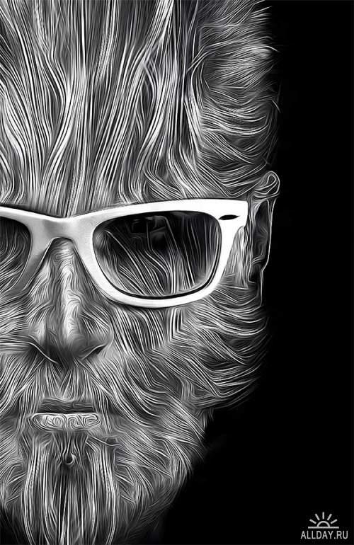 Графический рисунок - Digital Art by Obery Nicolas