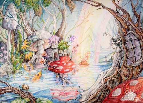 Artworks by Anna Mohrbacher