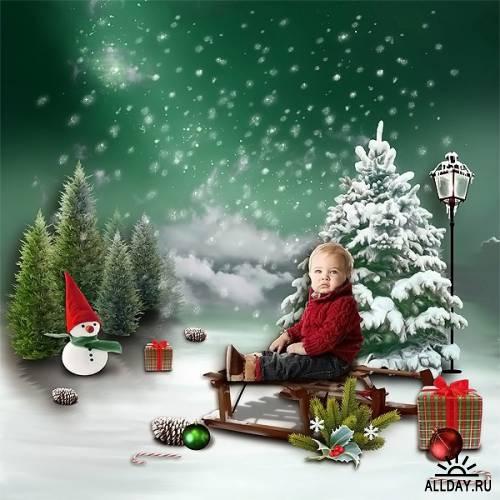 Scrap kit A Very Special Christmas