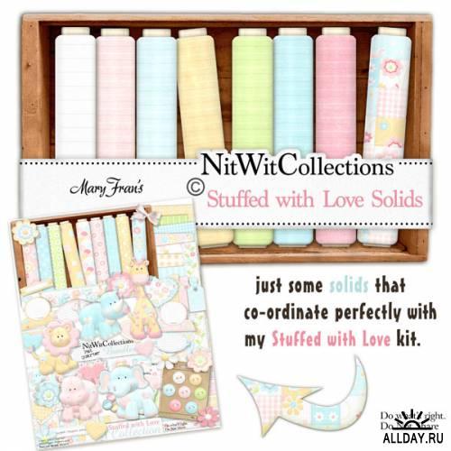 Scrap kit  Stuffed with Love