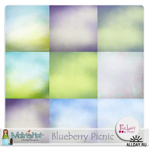 Scrap kit- Blueberry picnik