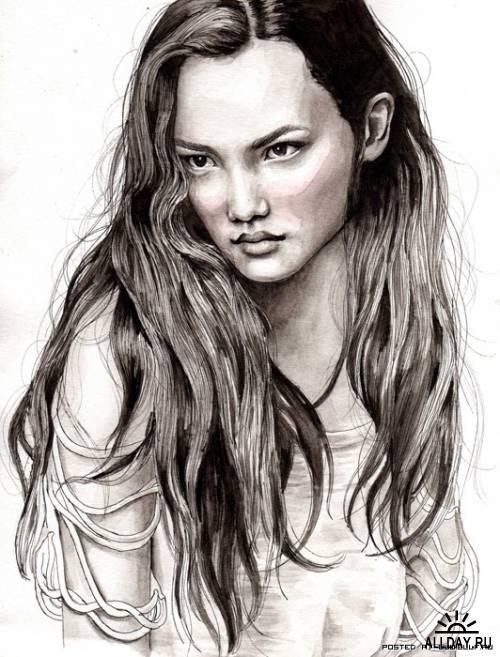 Фэшн-иллюстратор из Швеции - Ханна Мюллер