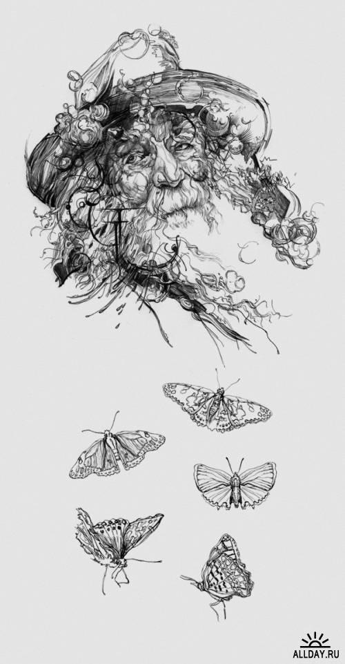 Фантастические работы Krzysztof Domaradzki