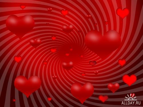 Подборка обоев ко Дню Святого Валентина