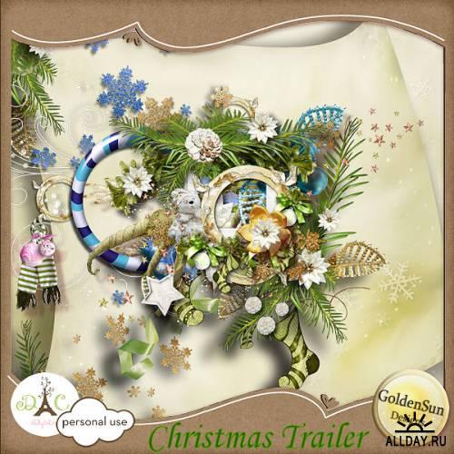 Scrap kit   Christmas Trailer