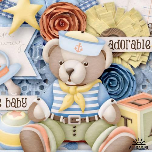Scrap kit Hush Little Baby
