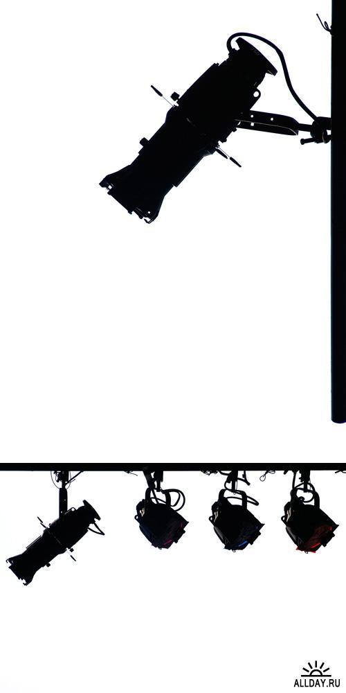 Клипарт - Black silhouette | Черные силуэты