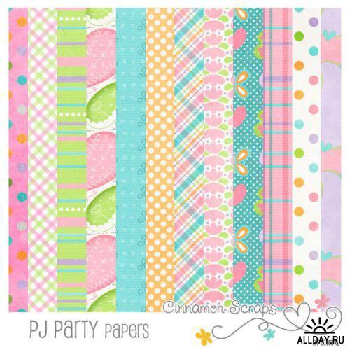 Скрап-набор - PJ Party