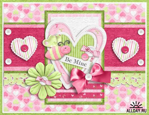 Scrap kit  Butterly Kisses