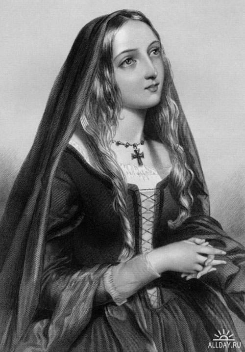 Красавицы королевской крови на рисунках лучших викторианских художников