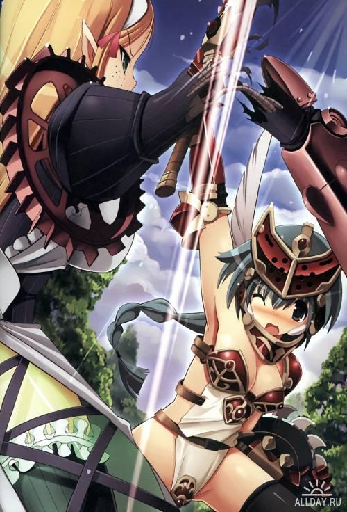 Queen's Blade Rebellion Beautiful Fighter Senki