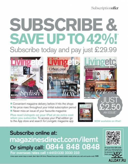 Living etc №6 (июнь 2012) / UK
