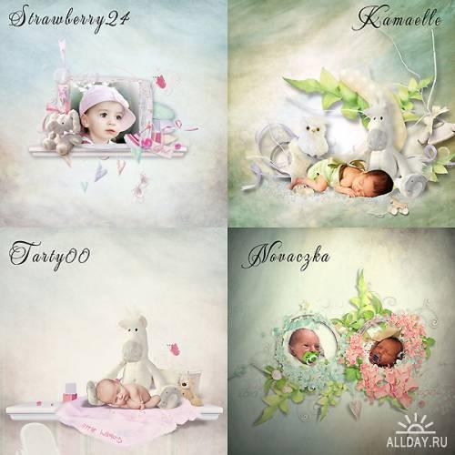 Скрап набор Lullaby