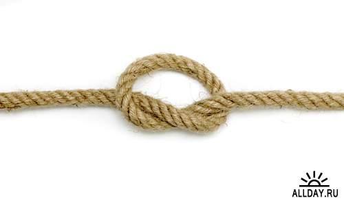 Канат - Растровый клипарт | Rope - UHQ Stock Photo