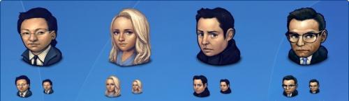 Иконки - ЛЮДИ (127 иконок)