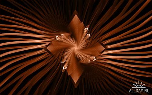 Фоны и обои - Фрактальная абстракция