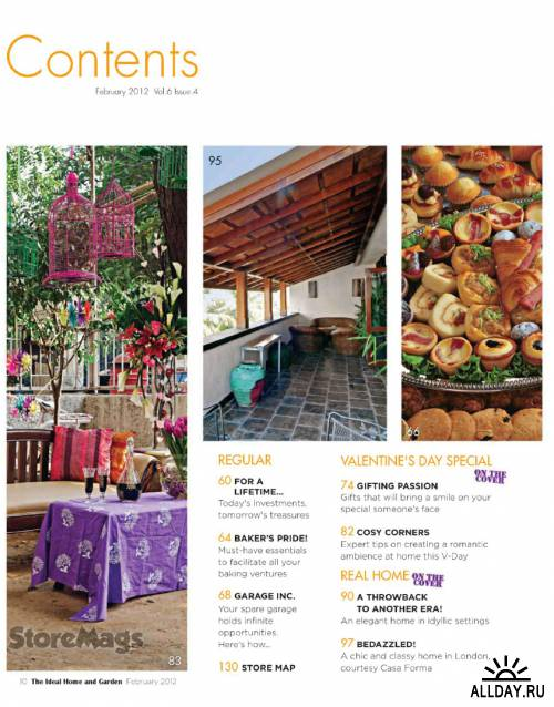 The Ideal Home and Garden - February 2012 (India)