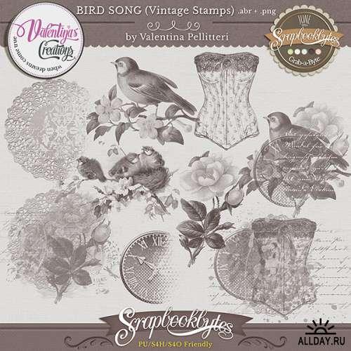 Скрап-набор Bird Song - Птичья Песня