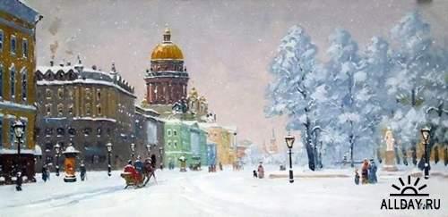 Работы художника Александра Александровского