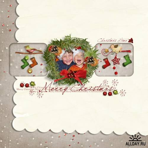 Скрап-набор - Christmas Time