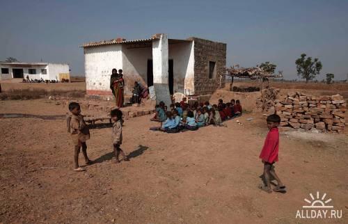 Детский голод в Индии