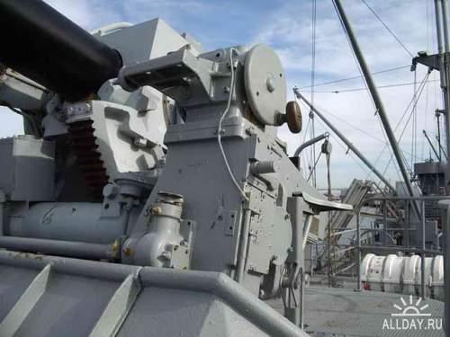 Фотообзор - американское морское орудие  US 5