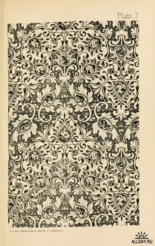 Ornamental design, embracing The Anatomy of pattern