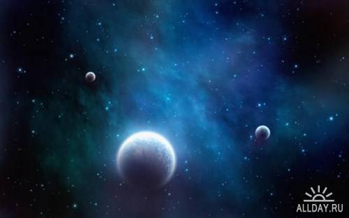 Обои с изображением открытого космоса часть 13
