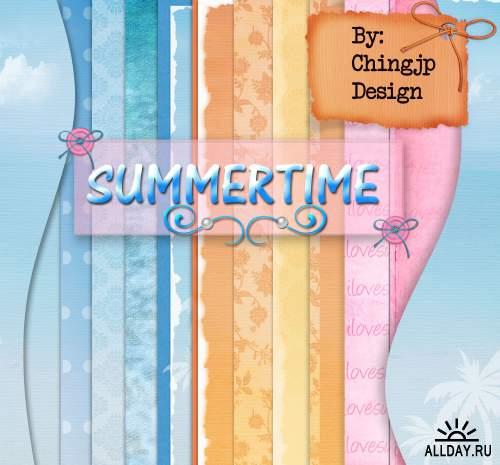 Scrap set - Summer time