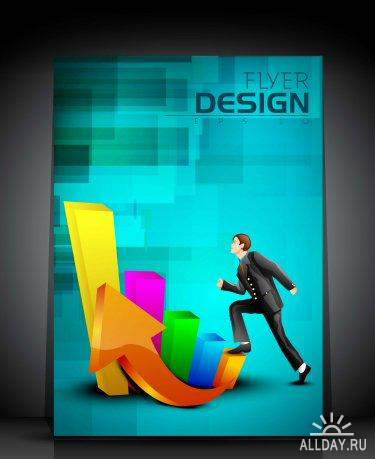 Professional Business Flyer Vector Collection