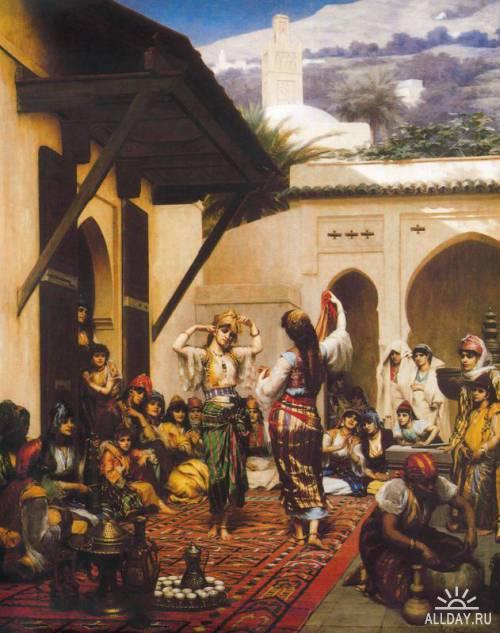 Испанская живопись. Видение Востока начала 19 века. Лос Оpиенталистас   Los Orientalistas