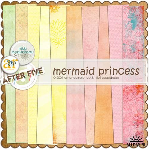Scrap Mermaid Princess