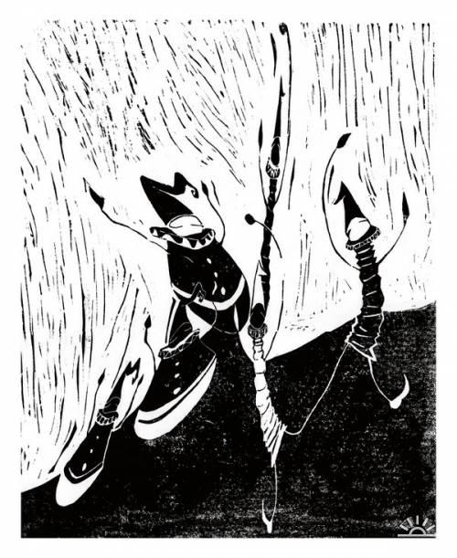 Иллюстрации от Gressmon's Sister