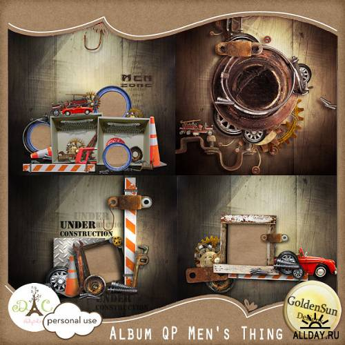Scrap kit  Mens Thing