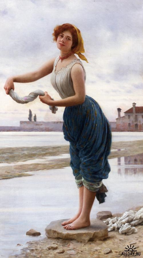 Eugene De Blaas (1843 - 1931)