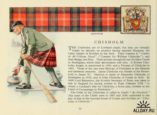 The scottish tartans, with historical sketches of the clans and families of Scotland