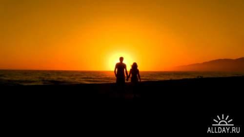 Футажи - Романтика, Любовь