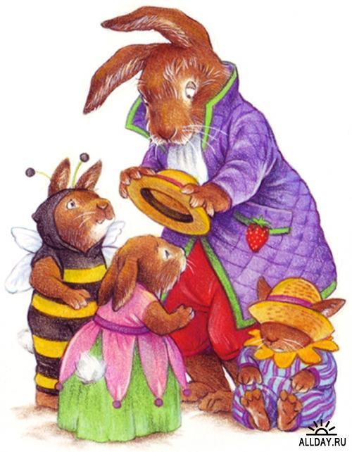 Детские иллюстрации от Katy Bratun