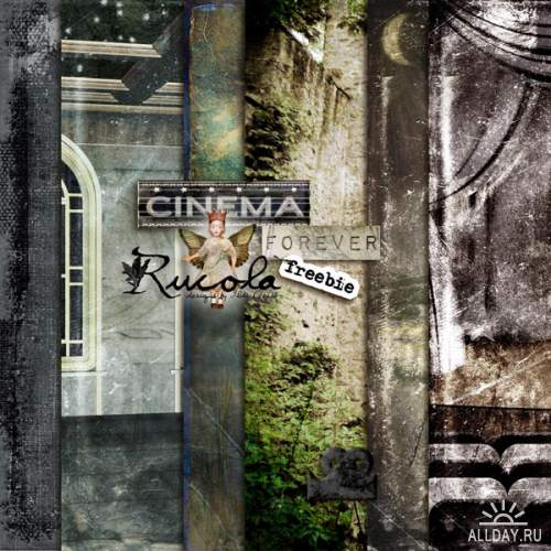 Scrap kit - Cinema Forever