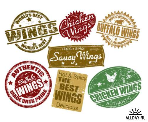 Food labeling 01 - vector