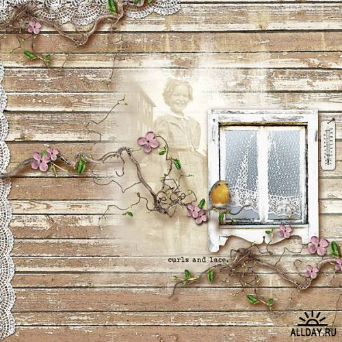 2 мини-набора - Sea breeze, Kitchen window