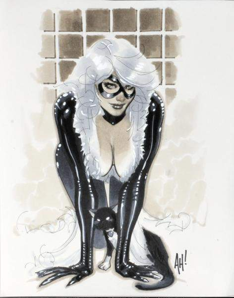 Adam Hughes artwork