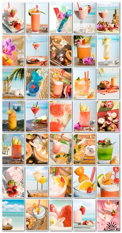 Stock Photo: Paradise Cocktails