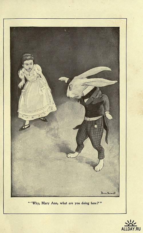 Peter Newell (1862-1924). Alice's adventures in Wonderland (1901)