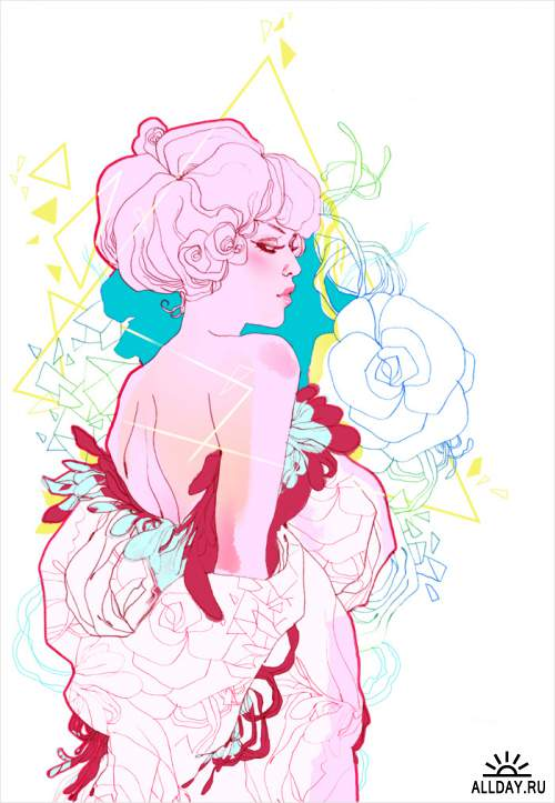 Glamour Illustrator Marguerite Sauvage